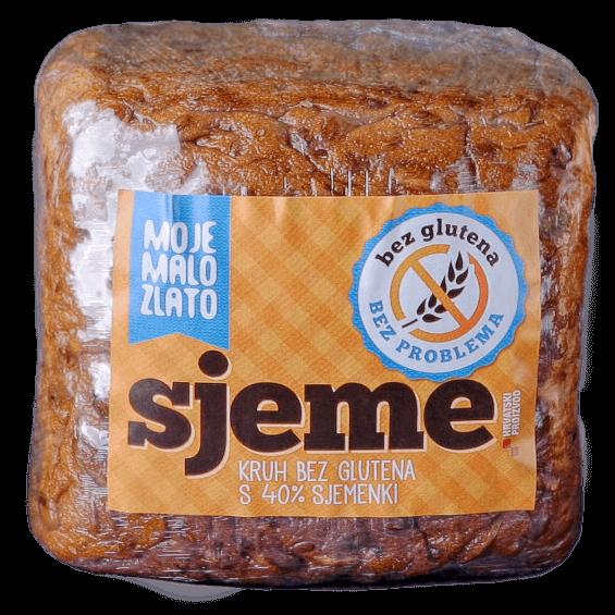 Bezglutenski kruh Sjeme